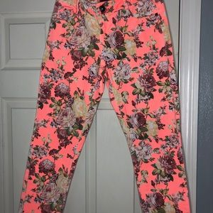 Bongo floral jean